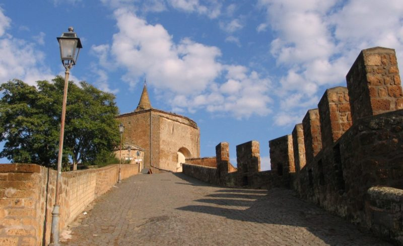 Colonnacce di Orvieto - itinerari turistici
