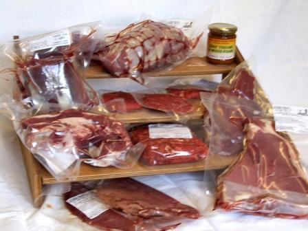 Produzione agriturismo: Carni fresche